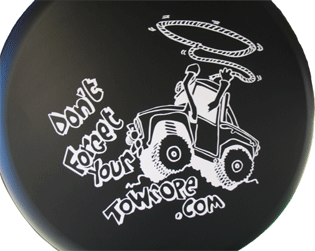 Off Road Club wheel cover.