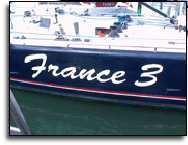 Yacht Hull Logo: France 3