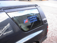 Frontera window decals - click for close-up