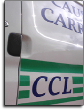 Side view of Causeway Carriers logo