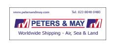Peters & May Banner